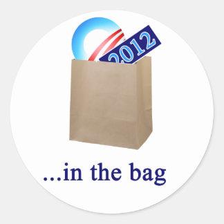 バッグのオバマ2012年 ラウンドシール