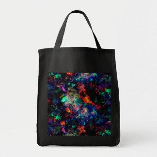 バッグのグリッター色のしぶき トートバッグ