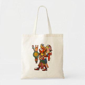 バッグのマヤのインドの戦士 トートバッグ