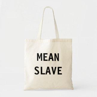 バッグの中間の奴隷 トートバッグ