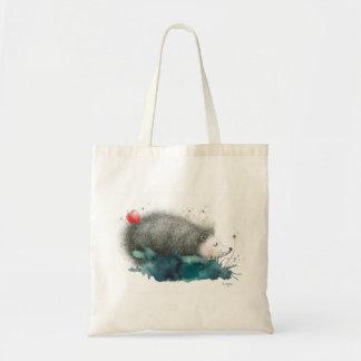 バッグの小さいハリネズミ トートバッグ