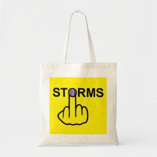 バッグの嵐フリップ トートバッグ