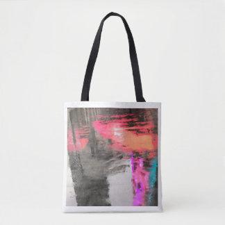 バッグの抽象芸術 トートバッグ