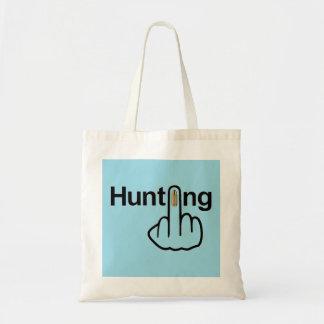 バッグの狩りフリップ トートバッグ