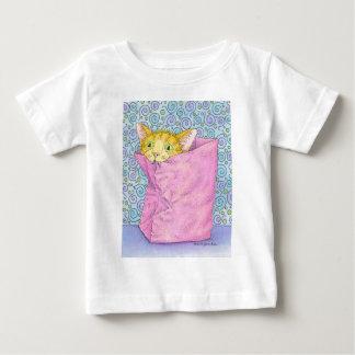 バッグのCATの演劇 ベビーTシャツ