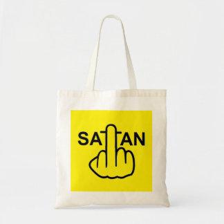 バッグのSatanフリップ トートバッグ