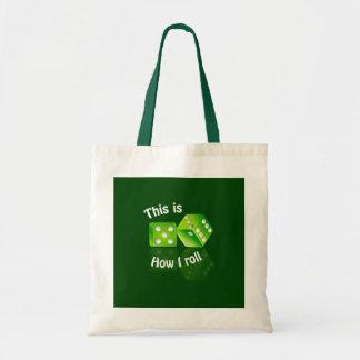 バッグをさいの目に切ります-スタイルを選んで下さい トートバッグ
