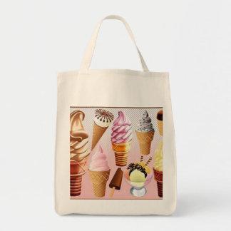 バッグをアイスクリーム トートバッグ
