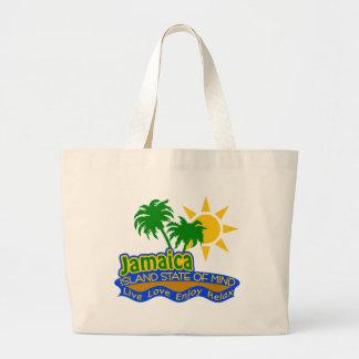 バッグジャマイカの精神状態 ラージトートバッグ