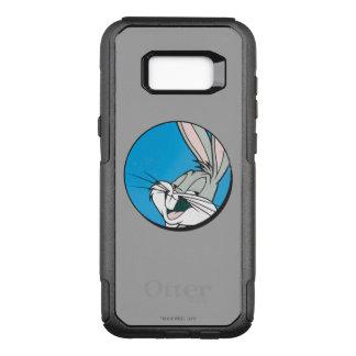 バッグス・バニーの™のレトロの青いパッチ オッターボックスコミューターSamsung GALAXY S8+ ケース