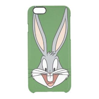 バッグス・バニーの™の微笑の顔 クリアiPhone 6/6Sケース
