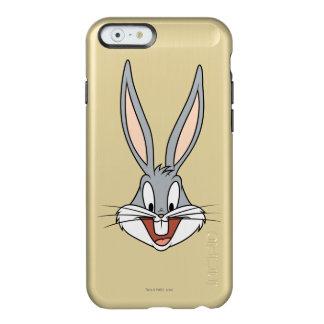 バッグス・バニーの™の微笑の顔 INCIPIO FEATHER SHINE iPhone 6ケース