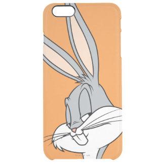 バッグス・バニーの™の横の一見 クリア iPhone 6 PLUSケース