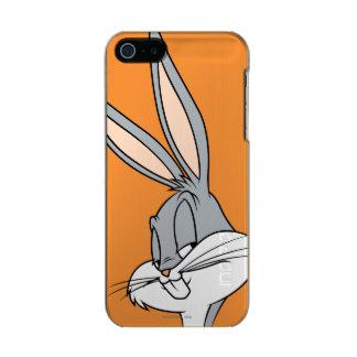 バッグス・バニーの™の横の一見 メタリックiPhone SE/5/5sケース