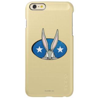 バッグス・バニーの™はバッジを主演します INCIPIO FEATHER SHINE iPhone 6 PLUSケース