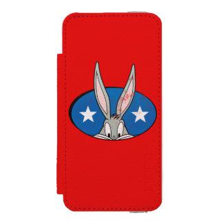 バッグス・バニーの™はバッジを主演します INCIPIO WATSON™ iPhone 5 財布 ケース