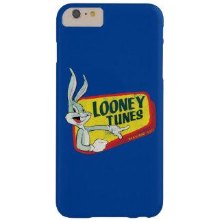 バッグス・バニーの™愚かいTUNES™のレトロパッチ BARELY THERE iPhone 6 PLUS ケース