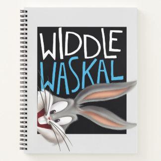 バッグス・バニーの™ - Widdle Waskal ノートブック