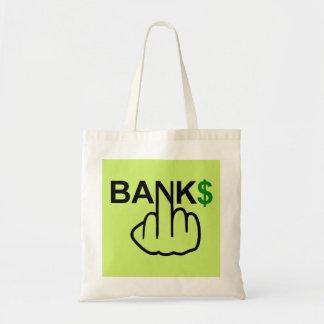 バッグ銀行は買収します トートバッグ