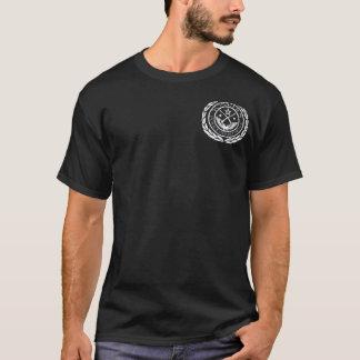 バッジとのYonkersPD Tシャツ