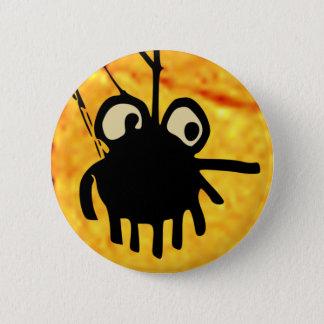 バッジ: クモの巣のゲーム 5.7CM 丸型バッジ