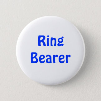 バッジ-結婚式で指輪を運んで来る人 缶バッジ