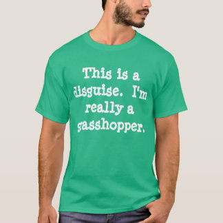 バッタの衣裳 Tシャツ