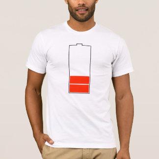 バッテリーの充電のティー Tシャツ