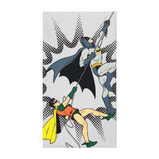 バットマンおよびロビンの上昇 キャンバスプリント