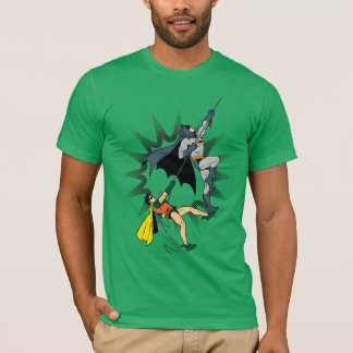 バットマンおよびロビンの上昇 Tシャツ