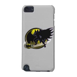 バットマンおよび円のロゴ iPod TOUCH 5G ケース