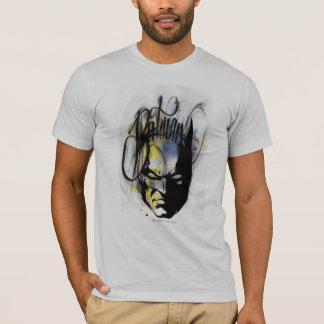 バットマンのエアブラシのポートレート Tシャツ