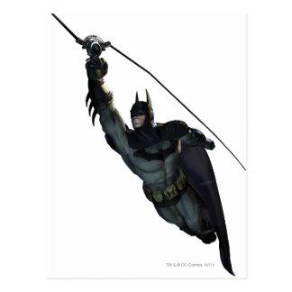 バットマンのジッパーライン ポストカード