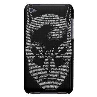 バットマンのヘッド信念 Case-Mate iPod TOUCH ケース