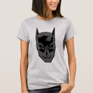 バットマンのヘッド信念 Tシャツ