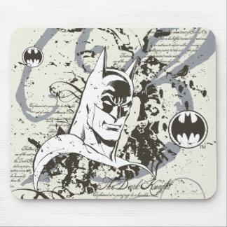 バットマンの暗い騎士原稿モンタージュ マウスパッド