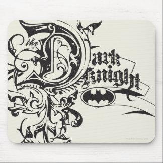 バットマンの暗い騎士|華美なロゴ マウスパッド