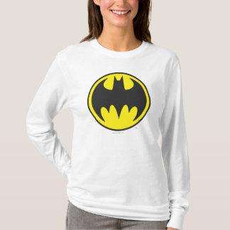 バットマンの記号|のこうもりの円のロゴ Tシャツ