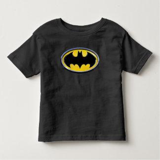 バットマンの記号|のクラシックなロゴ トドラーTシャツ
