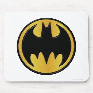 バットマンの記号|のクラシックな円形のロゴ マウスパッド