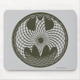 バットマンの記号|の新しいの円のロゴ マウスパッド