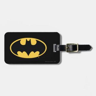 バットマンの記号|の楕円形のロゴ バッグタグ