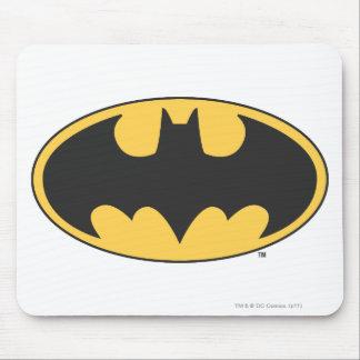 バットマンの記号|の楕円形のロゴ マウスパッド