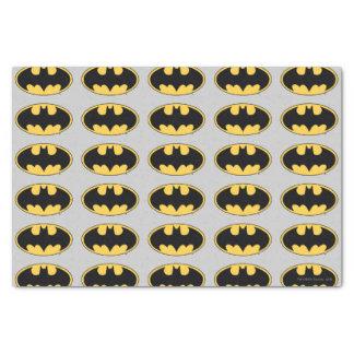 バットマンの記号|の楕円形のロゴ 薄葉紙