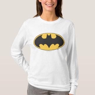 バットマンの記号|の楕円形のロゴ Tシャツ