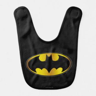 バットマンの記号|の楕円形の勾配のロゴ ベビービブ