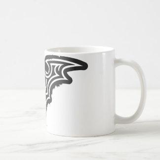 バットマンの記号|の都市白黒のロゴ コーヒーマグカップ
