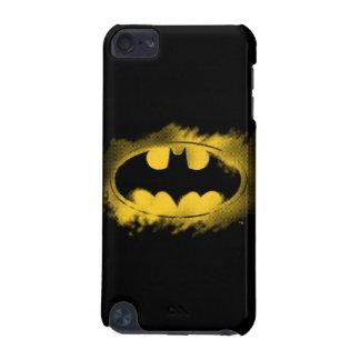 バットマンの記号|の黒くおよび黄色のロゴ iPod TOUCH 5G ケース