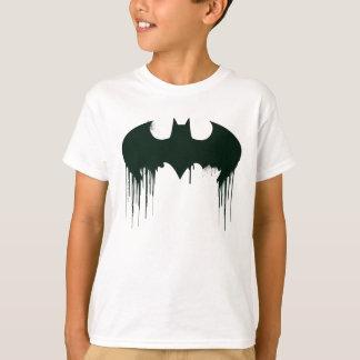 バットマンの記号| Spraypaintのロゴ Tシャツ