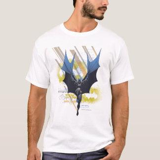 バットマンの都市伝説-暗い騎士落書き Tシャツ